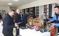 Adıyaman'da açılan polis pazarına büyük ilgi
