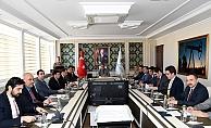 Seçim güvenliği toplantısıyapıldı