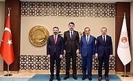 AK Parti heyetinden Bakanlara Ziyaret