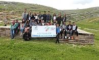 Gençlerden 'kültürel oryantiring' etkinliği