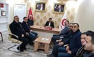 Güvenlikçiler Derneğinden Yeniden Refah Partisine Ziyaret