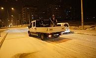 Adıyaman Belediyesi Kar Yağışına Hazırlıklıydı