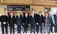 Bakan Yardımcısı Demircan, Perre Antik Kenti ve Sahabe Külliyesini Ziyaret Etti