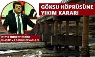 Köprüde Tehlike Var, Bütçe Olursa Yapılacak !!!
