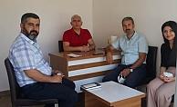 Başkan Dimez'den Harıkçı'ya Ziyaret