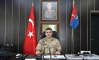 İl Jandarma Komutanı Yeşiylurt Göreve Başladı