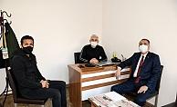 """Vali Çuhadar """"10 Ocak Çalışan Gazeteciler Günümüzü' Kutladı"""