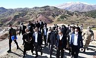 Vali Çuhadar Ve Milletvekilleri, Sulama Projelerini İnceledi