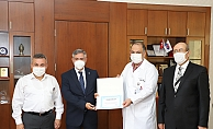 Sanko Üniversitesi Hastanesi'ne SGK'dan Teşekkür Belgesi