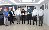 Kahta'dan TRT Kurdi'nin Başarılı Spor Yayınlarına Ödül