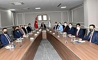 İlçe Kaymakamları Vali Mahmut Çuhadar Başkanlığında Toplandı