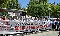 """"""" Seyyanen Zam Verilsin, Gelir Kaybı Giderilsin """""""