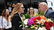 Bakan eşi Pervin Ersoy ünlüler ile birlikte Adıyaman'da
