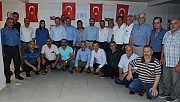 AK Parti Heyetinden Muhtarlara Ziyaret