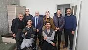 Hasan Taşar ağabeyimiz , iki engelliyi daha sevindirdi
