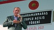 """Cumhurbaşkanı Erdoğan: """"Kahramanmaraş Her Zaman Yanımızda Olmuştur"""""""