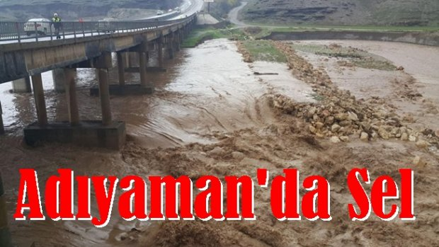 Adıyaman'da Sağnak Yağış